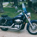 Motorcycle Rental Information for Honda Shadow Blue Bandit