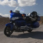 Motorcycle Rental Honda Goldwing Blue Belle