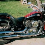 Motorcycle Rental Information for Yamaha VStar Cherry