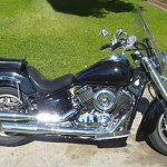Motorcycle Rental Information for Yamaha VStar 1100cc Midnite