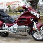 Honda Goldwing Ruby MotorCycle Rental