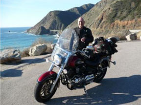Goldwing Renter, Conrad from Canada